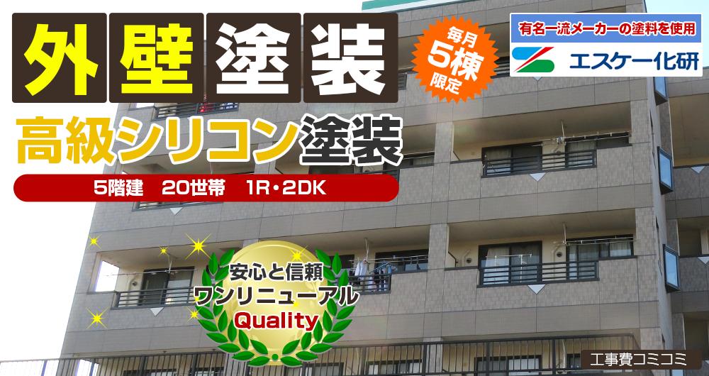 シリコンプラン塗装 318.0万円〜
