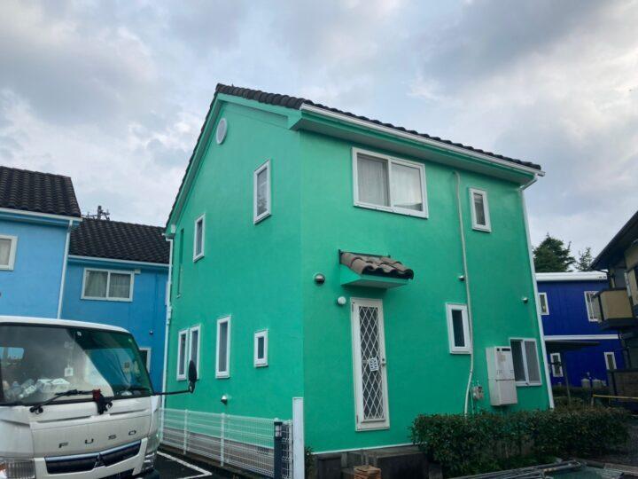 町田市 外壁塗装工事 S様邸テラスハウス